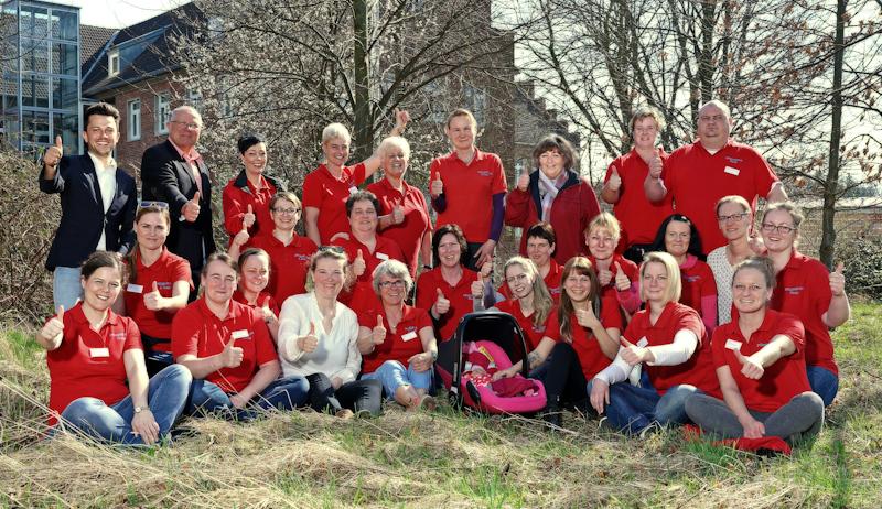 Unser Team - Pflegedienst Hoop